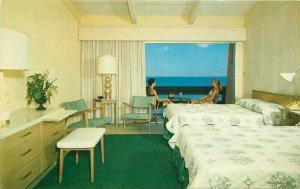 Gay Vacationer Motel Mid Century Furniture Virginia Beach Virginia Postcard 3091