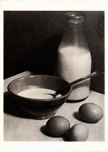 CPM PO4 Milk, Bowl, And Eggs 1921 PAUL OUTERBRIDGE, JR. (d1200)