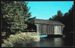 DOLLAR BOX – MA - Covere Bridge at Old STurbridge Village - 32472