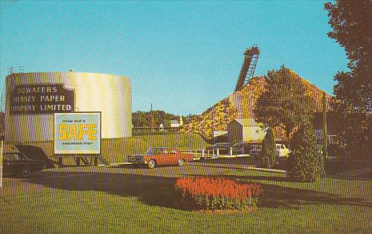 Canada Bowaters Mersey Paper Company Brooklyn Nova Scotia