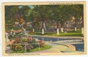 Big Springs Park, Huntsville, Alabama, 1930-1940s