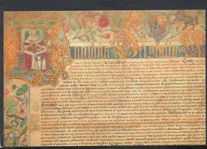 Northamptonshire Postcard - Northampton Borough Charter - King James I - RR5841