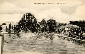 OH - Harrison. Fort Scott Camp for Girls, Swimming Pool