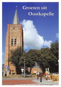 Netherlands Groeten uit Oostkapelle, Toren met N.H. Kerk church kirche