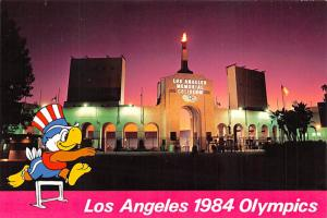 Los Angeles 1984 Olympics - Memorial Coliseum