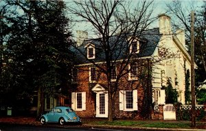 Delaware Dover Ridgely House On The Green 1965