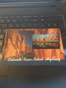 Vtg Postcard:Colorado RIver- Potash Highway,  Utah