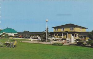 Exterior,  Motel St. Laurent,  Rimouski,  Quebec,  Canada,   40-60s