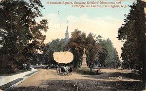 Monument Square in Flemington, New Jersey
