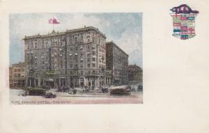 TORONTO , Ontario , 1900-10s ; King Edward Hotel , 1901-07