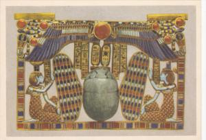 EGYPT, 1940´s; No. 20 Tut Ank Amen´s Treasures, Pectoral Composed By A Wing...