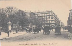 Rue Lafayette, Square Montholon, Paris, France, 00-10s
