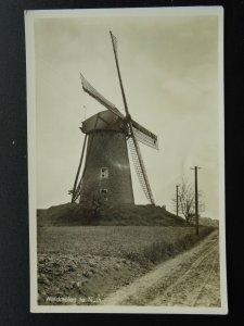 Netherlands Dutch Limburg NUTH OLD WINDMILL - Old RP Postcard