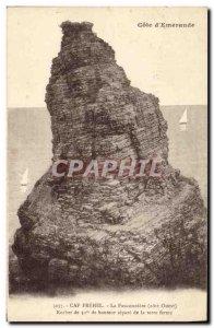 Old Postcard Cap Frehel The Fauconniere