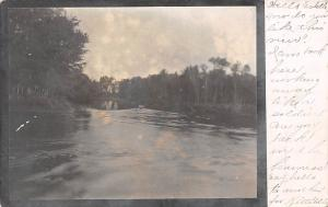 River boat vintage scene, Wis. Wilwaukee 1906