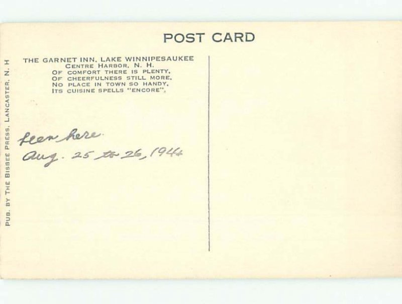 1940's RIVER SCENE Orford - Near Hanover & Barre & Montpelier NH AE6958