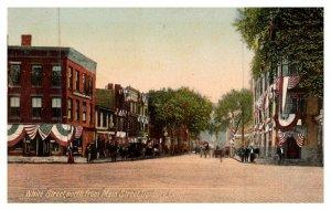 Connecticut Danbury ,  White street north from main street