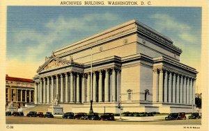 DC - Washington. Archives Building