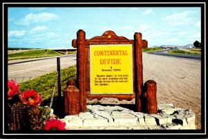 New Mexico Continental Divide On Interstate 40
