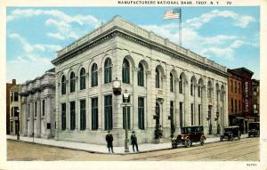 NY - Troy. Manufacturer's National Bank