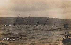 RP: CORNWALL, England, 00-10s ; Shipwreck of the S.S. MOHEGAN