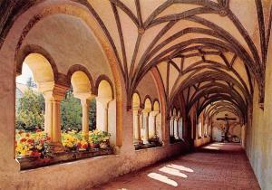 Steingaden Oberbayern, Romanischer Kreuzgang des Praemonstratenserklosters