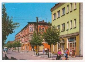 Krzyż  Wielkopolski , Poland, Ulica Boleslawa Bieruta, 60-80s