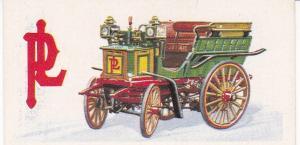 Trade Card Brooke Bond History of the Motor Car No 3