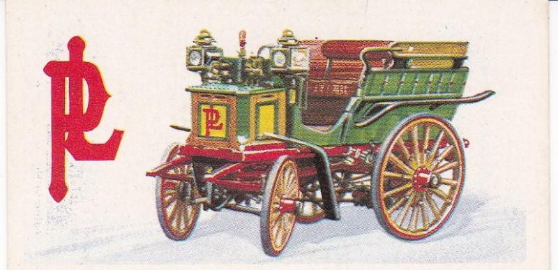 Trade Card Brooke Bond History of the Motor Car No 3