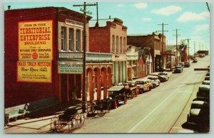 Virginia City NV~Territorial Enterprise Newspaper Office~Mark Twain~1940s Woody