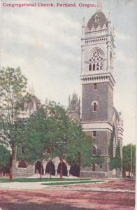 Congregational Church, PORTLAND, Oregon, 1900-1910s