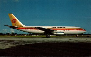 Continental Airlines Airbus A300B4-203