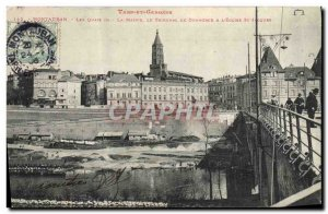 Old Postcard Montauban Tarn et Garonne Quays Maidie the Commercial Court the ...