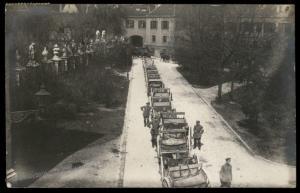German Revolution 1919 Freikorps Regierungstruppen Augsburg Bavaria RPPC 86987