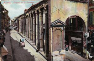 Colonne Di S. Lorenzo, Partial Street View, MILANO (Lombardy), Italy, 1900-1910s