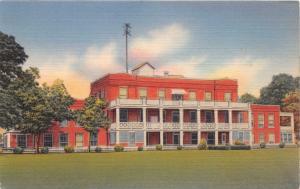 CAMERON TEXAS ST EDWARD HOSPITAL POSTCARD c1940s