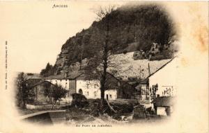CPA ARCHES - Au pont de Jarmenil (279392)