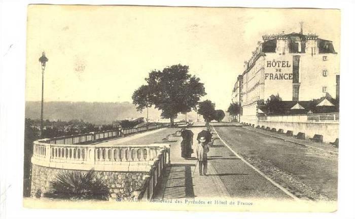 PAU, France, 00-10s ; Boulevard des Pyrenees et Hotel de France
