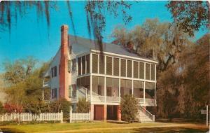 St Francisville LA~Audubon Memorial St Park~Oakley Plantation House~Museum~1960s