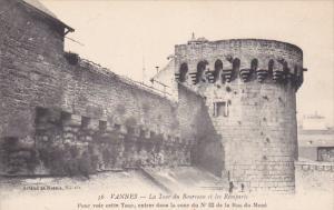 VANNES , France , 00-10s : La Tour du Bourreau et les Remparts