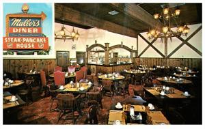 13241  PA Stroudsburg    Interior Muller's Diner