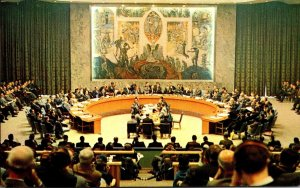 New York City United Nations Security Council Chamber