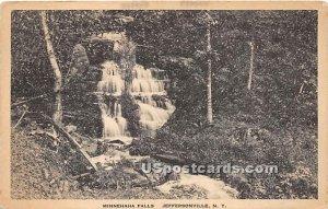 Minnehaha Falls - Jeffersonville, New York