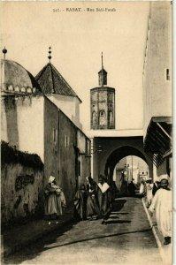 CPA AK MAROC RABAT - Rue SIDI-Fatah (281167)