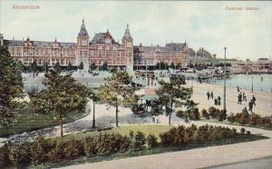Netherlands Amsterdam Central Railroad Station