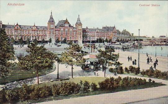 Netherlands Amsterdam Central Railroad Station