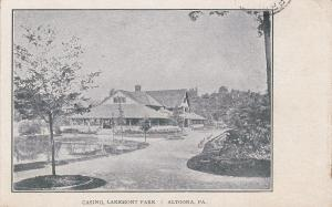 ALTOONA , Pennsylvania , PU-1911 ; Casino , Lakemont Park