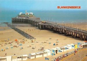 Belgium Blankenberge The Pier, Beach Promenade Plage Promenade