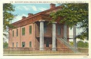 Old Court House, Camden, South Carolina, 30s