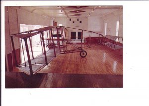 Silver Dart Replica, Airplane, Baddeck Bay, Cape Breton, Nova Scotia, Interior